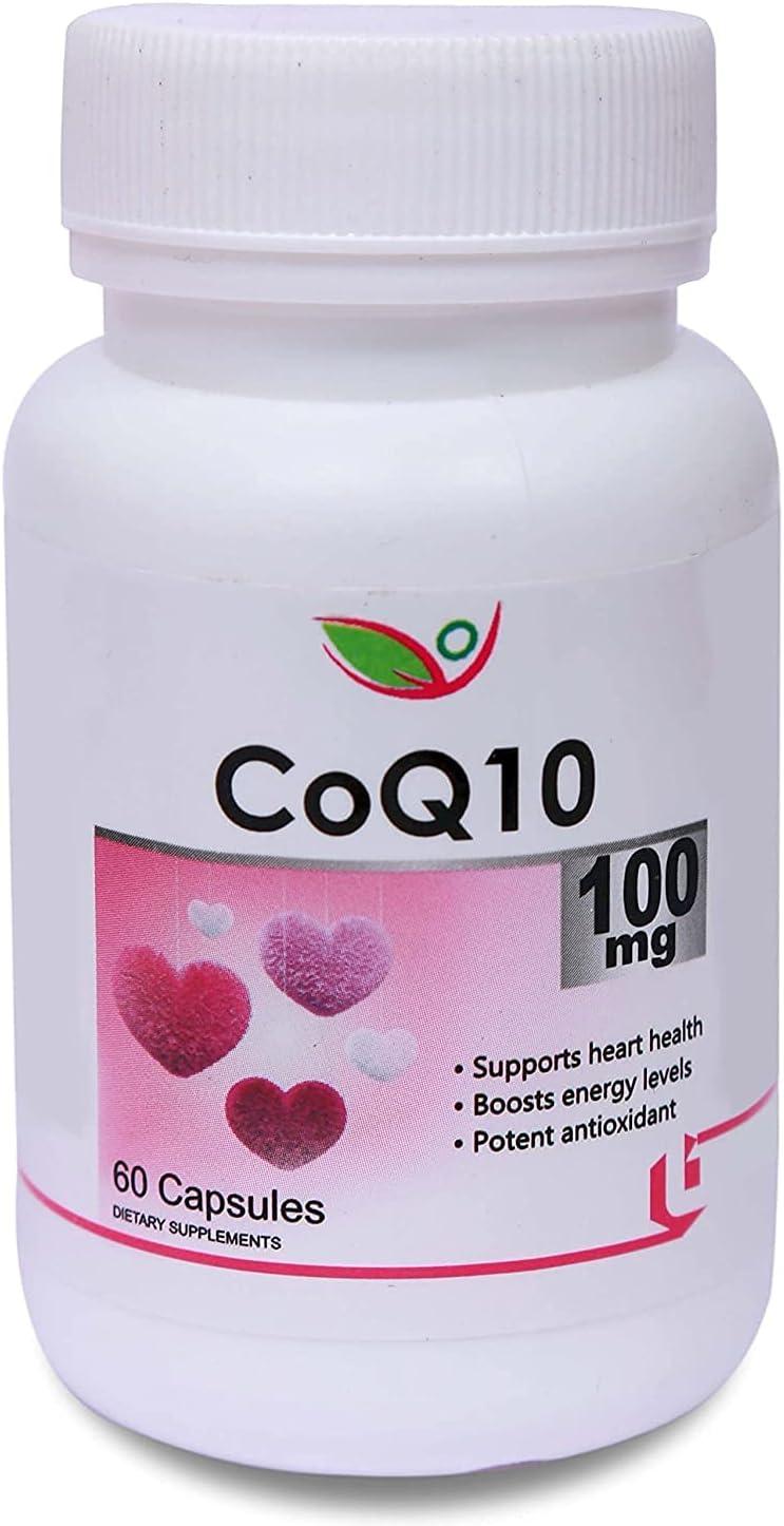 Trisha Biotrex Nutraceuticals Coq10 Trust 100% quality warranty! 60 100Mg Capsules -