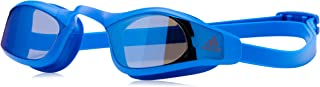 adidas Swim Goggles Pool Beach Swimming Persistar Adult Blue Race Mirrored New