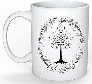 White Tree Gondor ~Lord of the Rings Mug 11oz Coffee Mug Novelty Cup