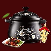 Praktisch Casserole gerechten keramische braadpan stoofpot pot soep pot met deksel 26,5 cm non stick en gemakkelijk schoon...