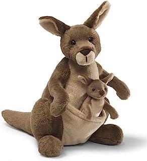 """GUND Jirra Kangaroo Stuffed Animal Plush, 10"""""""
