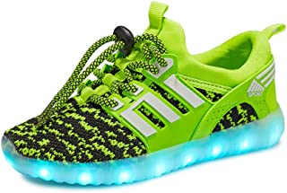 EVLYN Kids Light Up Shoes Boy Girl LED Lights Sneakers(Perfect Gift for Children&Teens