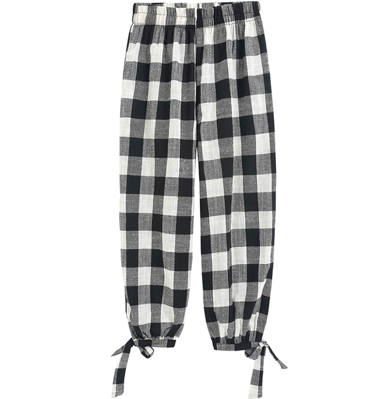 [セオヴェル]THEOVEL ギンガムチェック パンツ ボトムス レディース パンツ ズボン シンプル カジュアル