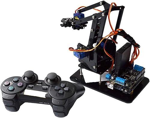 KESOTO 4-Dof PS2 Robot Télécomhommede Servo Bras Mécanique pour Arduino Robotique Voiture Intelligente Jeu
