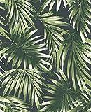 Superfresco Easy Green Papier peint Motif feuilles tropicales