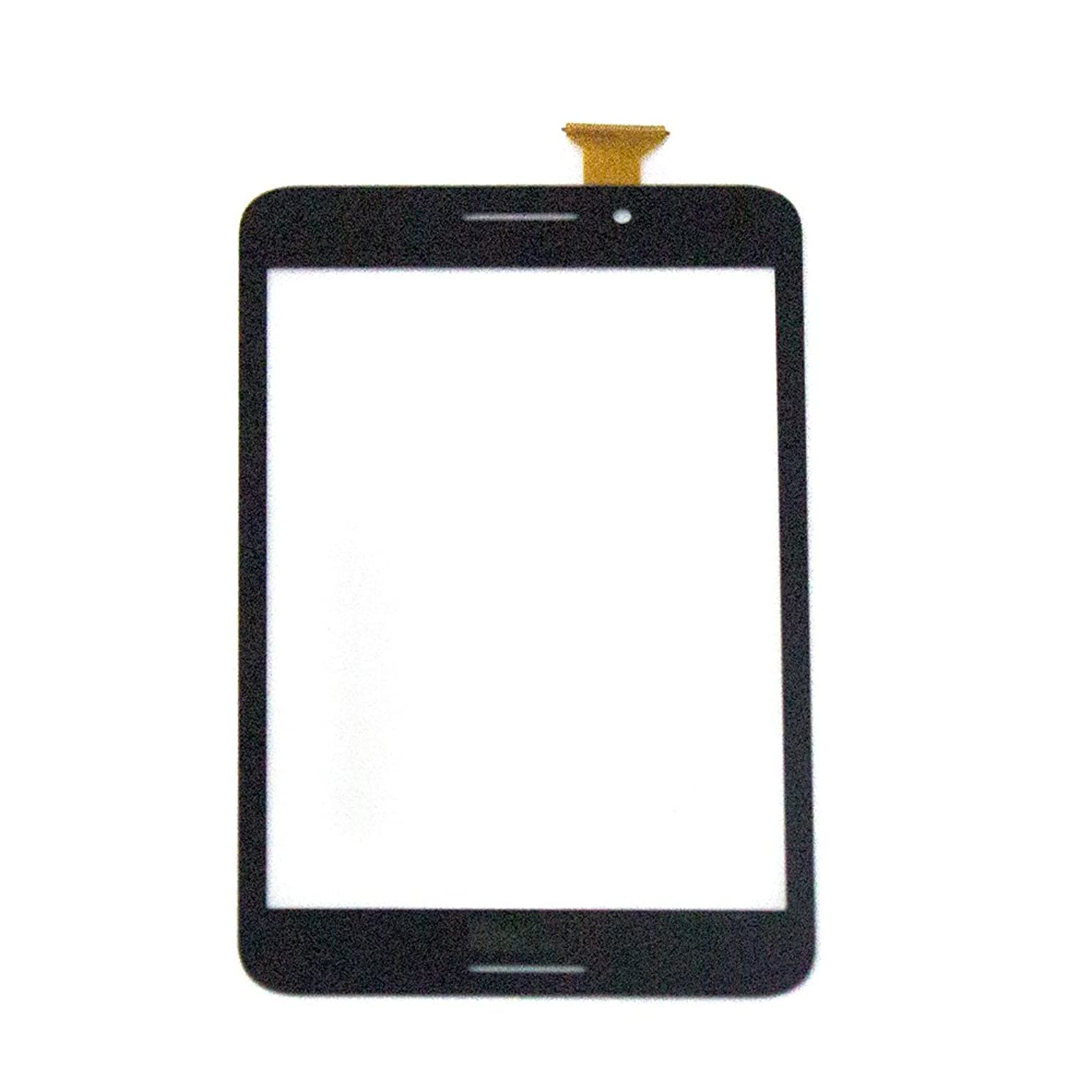Digitalsync-touch Screen Digitizer Glass Lens for Asus Memo Pad 7 Me375cl Black
