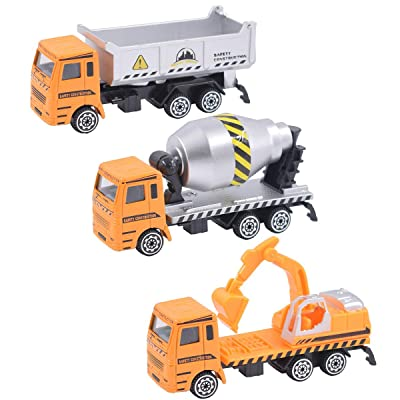 BeenUDog Diecast Construction Car Toys Set - Du...