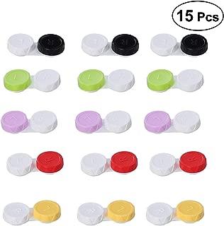 Healifty 15pcs Contact Lens Case