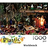 Ingooood - Jigsaw Puzzle 1000 Pieces- Workbench_IG-0499- Entertainment Recyclable Materials Plastic Puzzles Toys