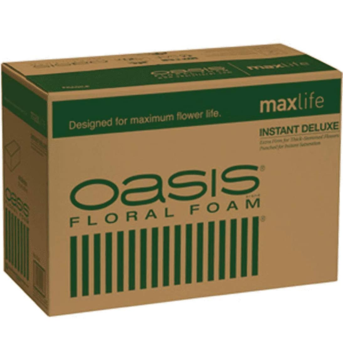 Oasis Instant Deluxe Floral Foam Bricks, Case O