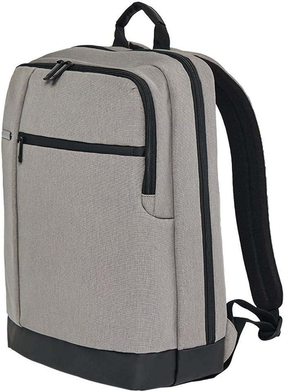 YING123 Business-Rucksack Laptoptasche 15,6-Zoll-Wasserdichte 15,6-Zoll-Wasserdichte 15,6-Zoll-Wasserdichte Mode-Studententasche Hellgrau B07LGTGPLL  Neues Produkt 2625ea
