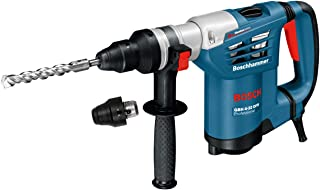 Sponsored Ad – Bosch 611332171 GBH4-32DFR Multidrill 4kg Rotary Hammer with Accessories, 240V, Navy Blue