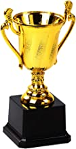 Amosfun Mini Gold Award Trofeeën met Zwarte Basis Trofeeën Beelden Erkenning voor Feestvieringen Ceremonie Waardering Gift...