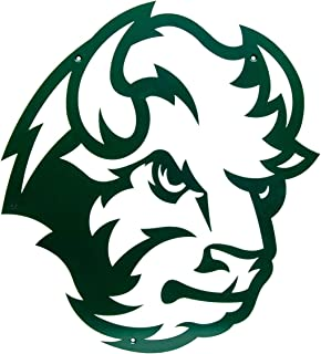Collegiate Series North Dakota State University NDSU Bison Head Logo - Metal Wall Art Decor 18