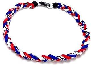 braided necklace baseball