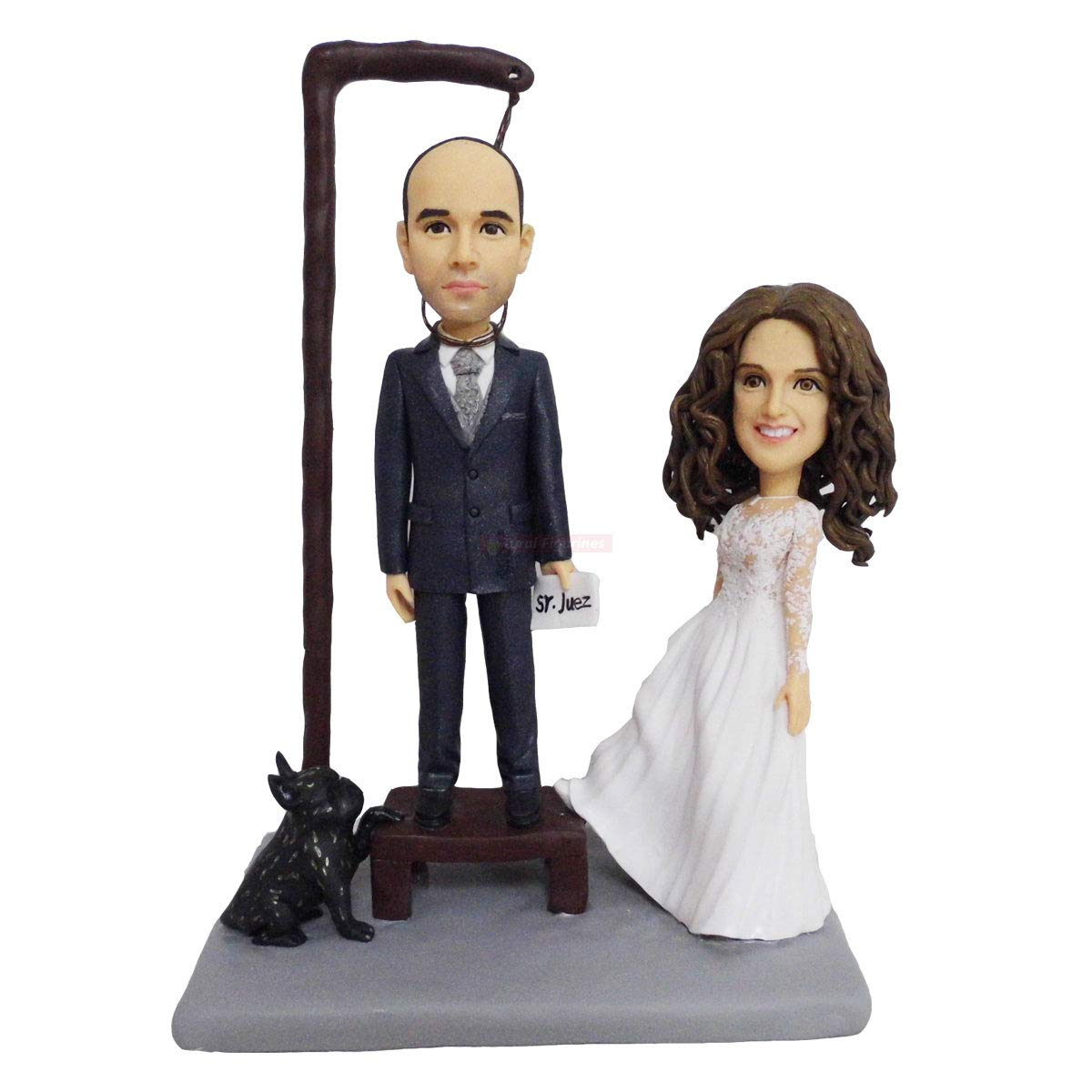 wedding 2021 autumn and winter new cake topper hunting with Custom Max 54% OFF bobblehead mi baby order