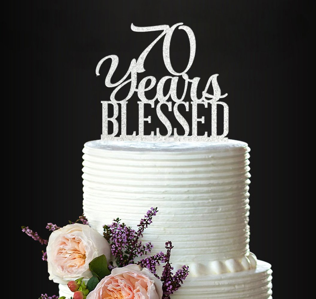 Cheers to 40 years cake topper,40 Years Blessed Cake Topper,Personalised Cake Topper,40 years Blessed Cake topper,40th birthday topper 2389