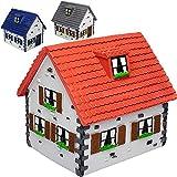 alles-meine.de GmbH Sparbüchse -  Haus / Traumhaus - Einfamilienhaus  - stabile Spardose - aus Kunstharz / Polyresin - Hausbau Umbau Renovierung - Hauskauf / Hausform - Umzug -..