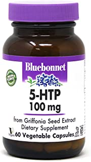 BlueBonnet Nutrition 5-htp 100 Mg Capsule, 60 Count