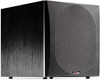 "Polk Audio PSW505 12"" Powered Subwoofer - Deep Bass Impact & Distortion-Free Sound, Up to 460 Watts, Easy Integration with..."