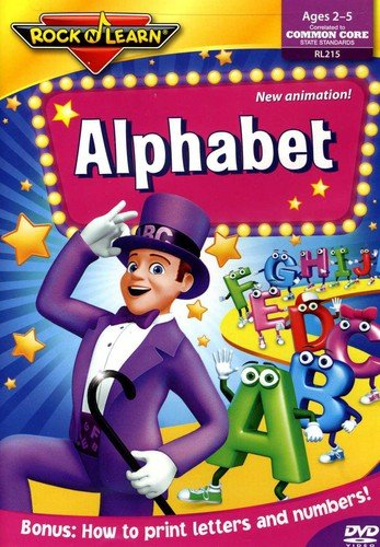 Alphabet DVD by Rock 'N Learn