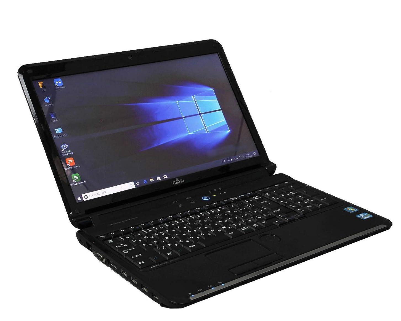 尾ミシンギネス[ WPS Office ] 富士通 LIFEBOOK AH55/GC Win10 Pro Core i5 2450M 2.50GHz メモリ4GB HDD640GB [ Blu-ray / 無線LAN ]