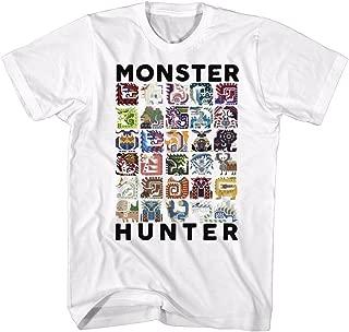 Monster Hunter Collage Let's Hunt Video Game Adult T-Shirt