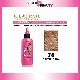 CLAIROL Jazzing Gentle Temporary Semi Permanent Hair Color #78 CREME SODA