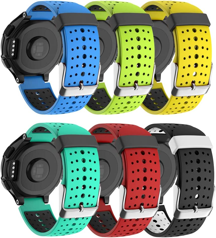 ISABAKE Ranking TOP10 Soft Silicone Sport Band 235 for Bands Cheap mail order specialty store Forerunner Watch