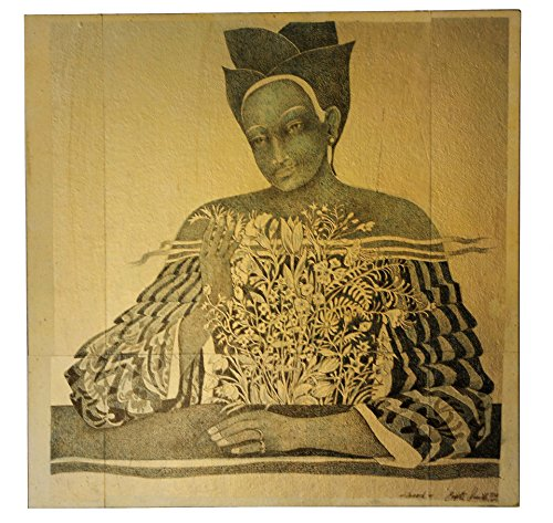 Inward, Original Gemälde, Brigitte Smith, 60 x 60 cm