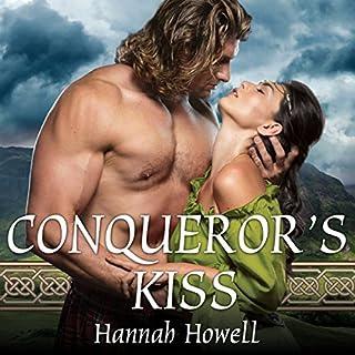 Conqueror's Kiss audiobook cover art