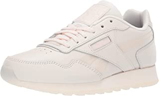 Reebok Women's Classic Harman Run Sneaker, Pale Pink/ice, 9 M US