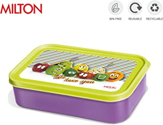 Milton School Time Tiffin Lunch Box - Available in 4 colors (Purple)