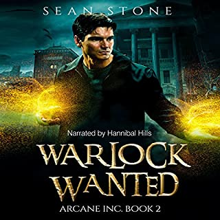 Warlock Wanted audiobook cover art