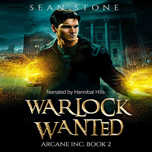Warlock Wanted audiobook cover art