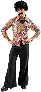 Orion Costumes Mens Disco Dancer Mens Costume Retro Fancy Dress 70s Outfit