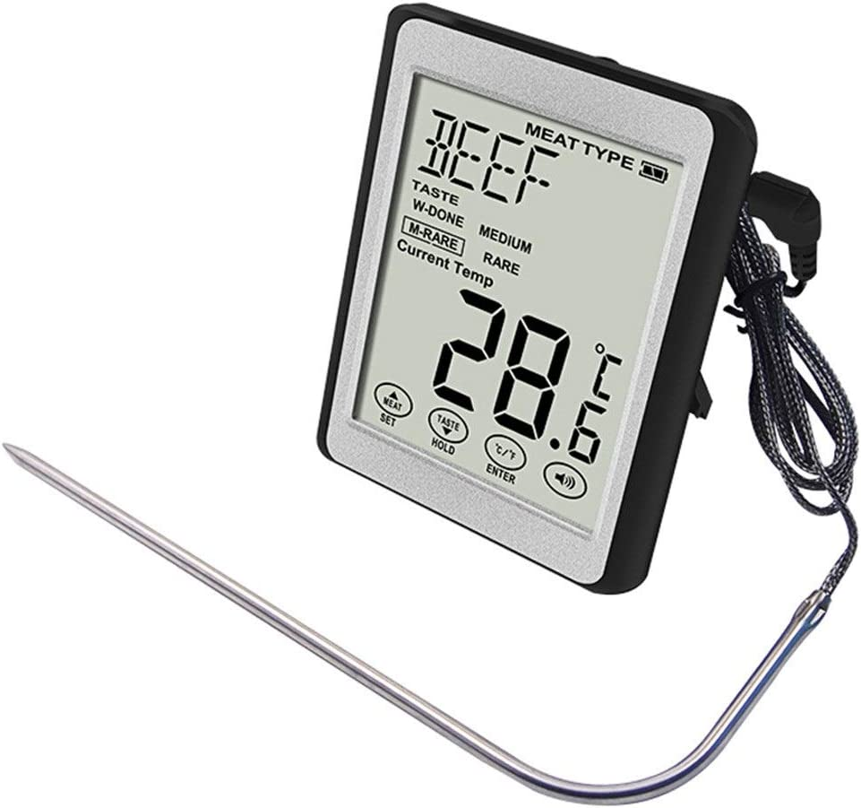 Meat Thermometer Outdoor BBQ With Now on sale Voice Broadcast Inexpensive Fu