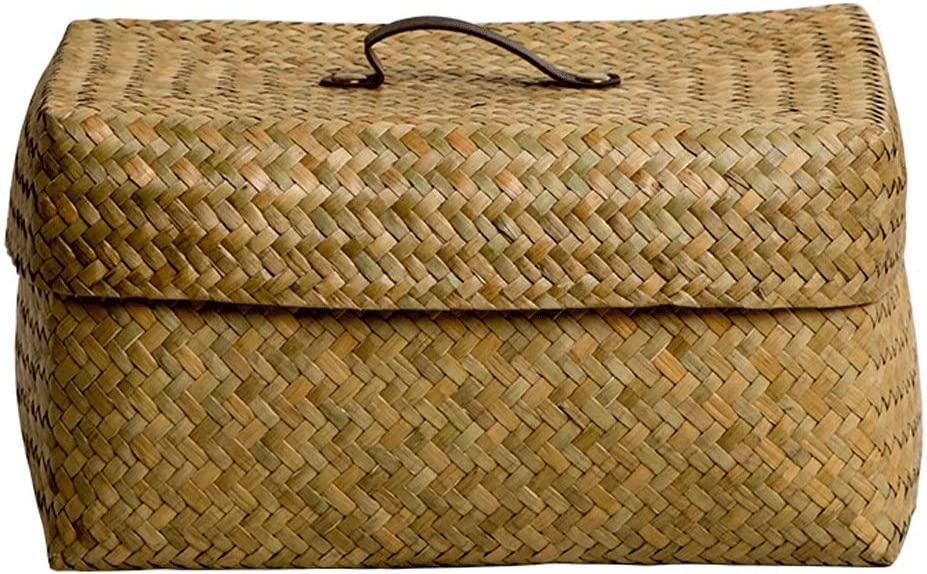 Some reservation piaoling Laundry Hamper Clothes Basket Genuine Free Shipping Seaweed Woven Box Storage