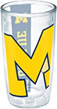 Tervis 1190231 Michigan University Colossal Wrap Individual Tumbler, 16 oz, Clear