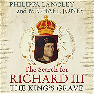 The King's Grave audiobook cover art