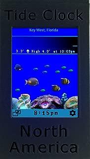 Wend Digital Tide Clock North America - Pacific/Atlantic/Gulf of Mexico : USA, Canada - 5,500+ sites across the continent. Plus Digital Aquarium.