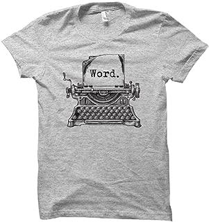 Best typewriter t shirt Reviews