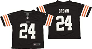 Nike NFL Little Boys (4-7) Cleveland Browns Jim Brown #24 Game Day Player Jersey