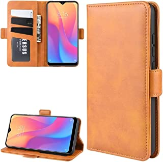 For Xiaomi Redmi 8A Dual-side Magnetic Buckle Horizontal Flip Leather Case with Holder & Card Slots & Wallet & Photo Frame New (Black) Hopezs (Color : Yellow)