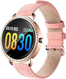 KYLN Reloj Inteligente para Mujer Monitor de Ritmo cardíaco para presión Arterial para Mujer Rastreador de Ejercicios Banda Inteligente Deportiva Recordatorio de Despertador Reloj Inteligente