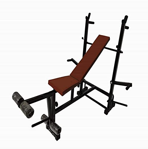 Health Fit India HFI ONLN 8In1 U 05 120 8 In 1 Excercises With 120 Kg Holding Capacity Multicolor