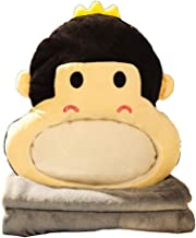 LF- Cushion Winter Play Mobile Phone Warm Hand Pillow Quilt Dual-use Coral Fleece Insert Hand Plush Durable (Color : C)