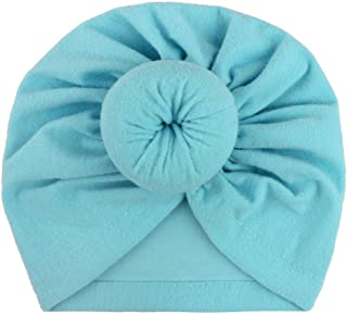 New Baby Products, Children's headscarves, caps, Baby Solid Color Knotted Indian Cap