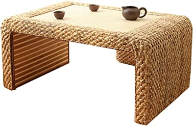 Coffee Table Household Tatami Table Living Room Coffee Table Rattan Tea Table Study Room Table Balcony Bay Window Table Gift