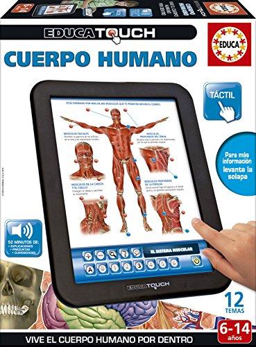 Educa Touch - Cuerpo Humano, Juguete electrónico (16137)